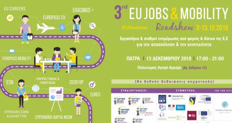 Π.Δ.Ε.: Europe Direct – Εκδήλωση για κινητικότητα