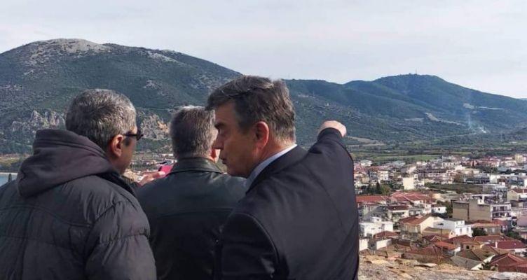 O Δήμαρχος Ακτίου-Βόνιτσας με τους Ευρωπαίους Δημοσιογράφους στο Κάστρο (Φωτό)