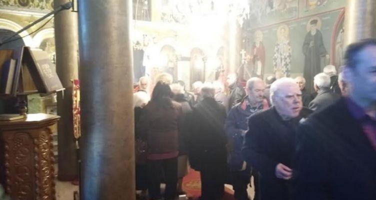 Εορτάστηκε ο Άγιος Νικόλαος στο ομώνυμο Ναό της Ανάληψης Τριχωνίδας