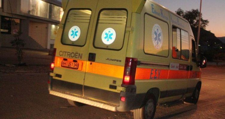 Νεάπολη Αγρινίου: Τραυματισμός νεαρού οδηγού μηχανής μεγάλου κυβισμού (Φωτό)