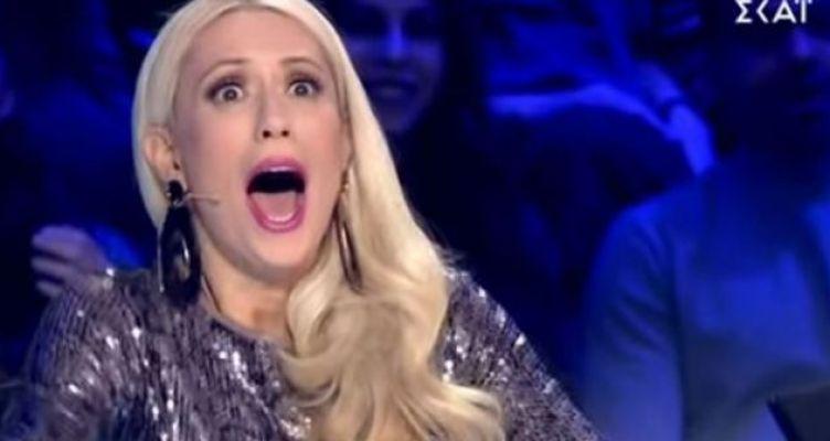 «Ελλάδα έχεις ταλέντο»: Ο διαγωνιζόμενος που έκανε την Μπακοδήμου να ουρλιάζει (Βίντεο)