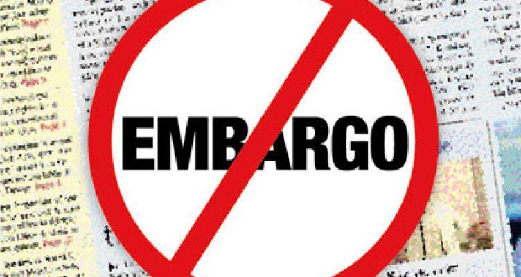 «Ευκαιρία» να μπει ένα τέλος στα εμπάργκο σε ΜΜΕ