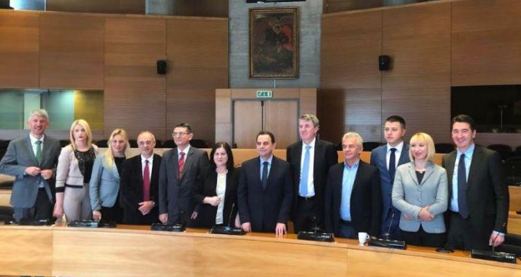 Η Μ. Τριανταφύλλου στην 1η συνάντηση της Επιτροπής Συνεργασίας της Βουλής των Ελλήνων