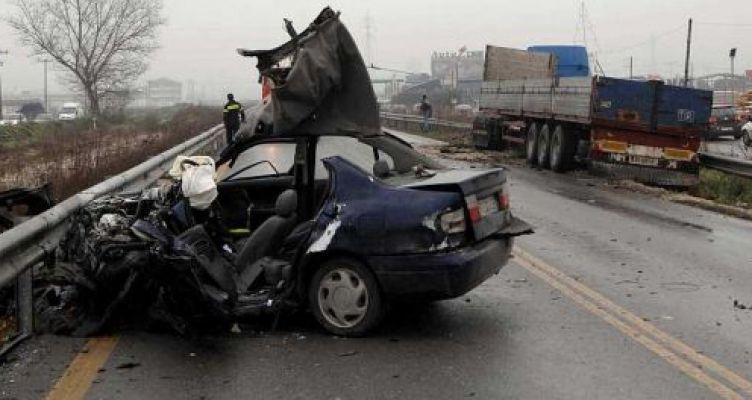 Ελαφρά μείωση των τροχαίων ατυχημάτων τον Οκτώβριο