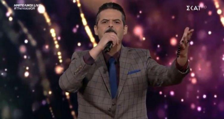 The Voice: Εκτός τελικού ένα από τα φαβορί ο Αγρινιώτης Γιάννης Πανουκλιάς! (Βίντεο-Φωτό)