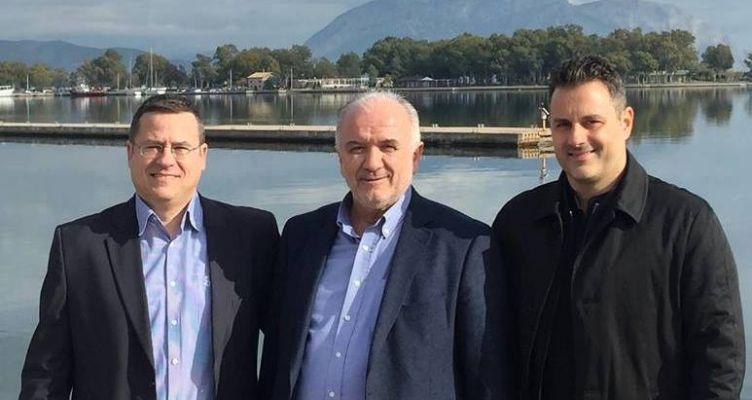 Μεσολόγγι: Γιαννόπουλος και Διαμαντόπουλος στον συνδυασμό του Κώστα Λύρου