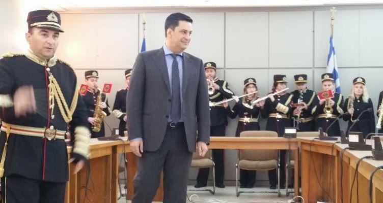 Αγρίνιο: Τα Κάλαντα της Πρωτοχρονιάς από την Φιλαρμονική στο Δήμαρχο Αγρινίου