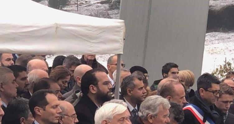 Ο Νεκτάριος Φαρμάκης στην 75η επέτειο του Ολοκαυτώματος των Καλαβρύτων