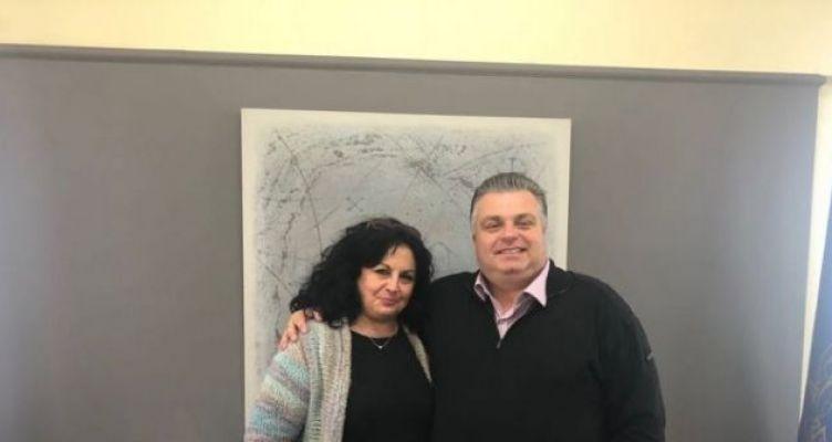 Μεσολόγγι: Η Σπυριδούλα Καμπά στο πλευρό του Νίκου Καραπάνου