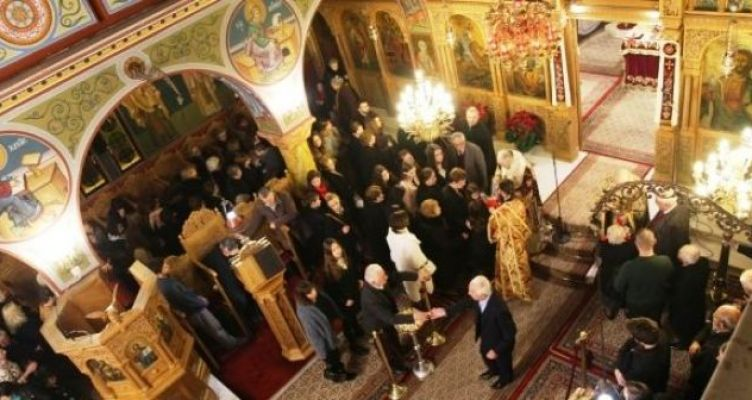 Χριστούγεννα στόν Καθεδρικό Ναό τῆς Ναυπάκτου