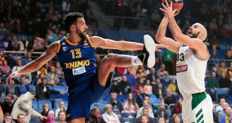 Euroleague Basketball: Αναιμική εμφάνιση σε εκτός έδρας ματς για τον Παναθηναϊκό