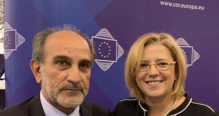 Συνάντηση του Περιφερειάρχη Απ. Κατσιφάρα με την Ευρωπαία Επίτροπο Κορίνα Κρέτσου