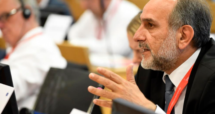 Στο Κογκρέσο του Κόμματος Ευρωπαίων Σοσιαλιστών ο Απ. Κατσιφάρας με δικαίωμα ψήφου