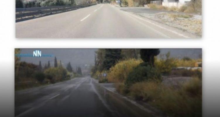 Μακύνεια: Παρεμβάσεις στην παλαιά Εθνική οδό (Βίντεο)