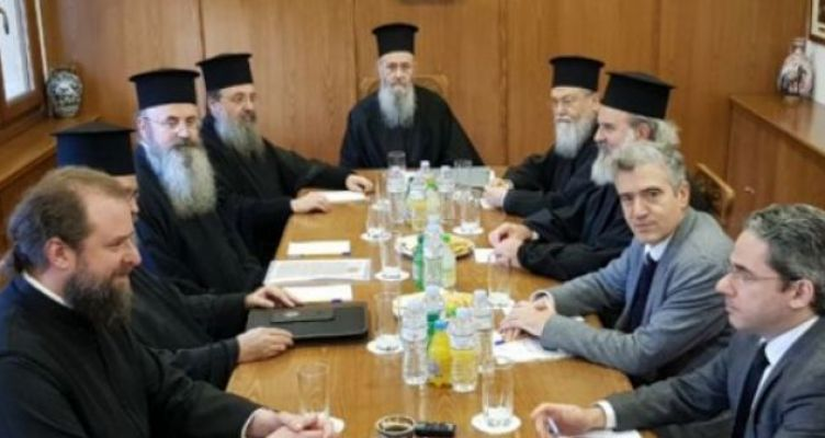 Υπό την προεδρία του Μητροπολίτη Ναυπάκτου συνεδρίαση Ε.Ε. διαλόγου Εκκλησίας-Πολιτείας