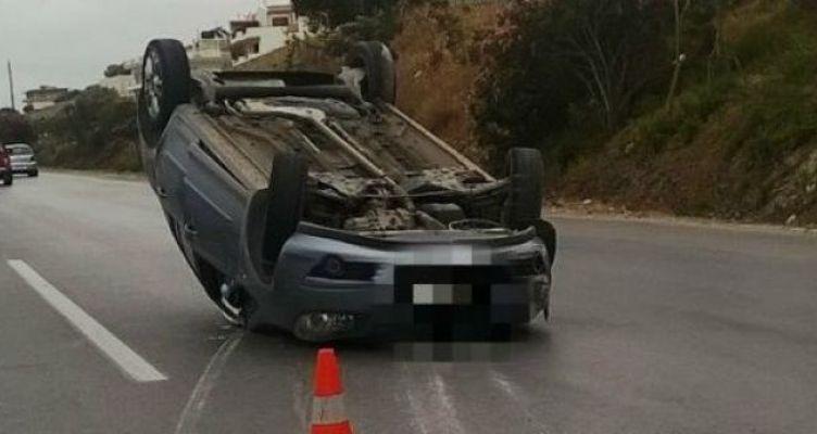Τροχαίο ατύχημα στον Άγιο Νικόλαο Βόνιτσας – Ντελαπάρισε αυτοκίνητο (Φωτό)