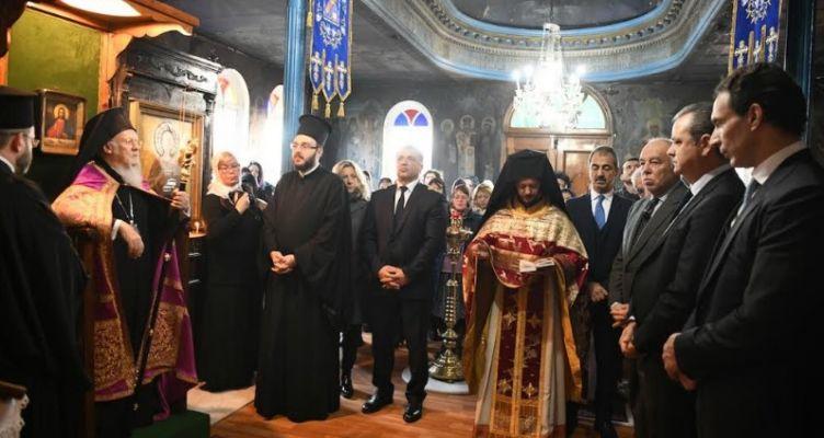 Ομιλία του Οικουμενικού Πατριάρχου προς τα μέλη της ρωσόφωνης Παροικίας της Πόλεως