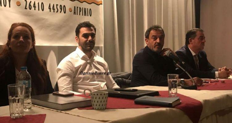 Αγρίνιο: Μεγάλη συγκέντρωση με τον Μανώλη Χριστοδουλάκη (Βίντεο-Φωτό)