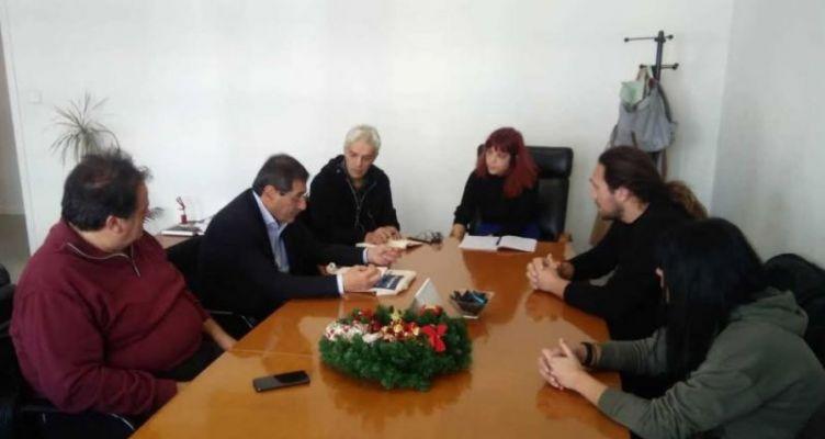 Συνάντηση Δημάρχου και Αντιπροσωπείας 8μηνιτών στο Υπουργείο Εργασίας