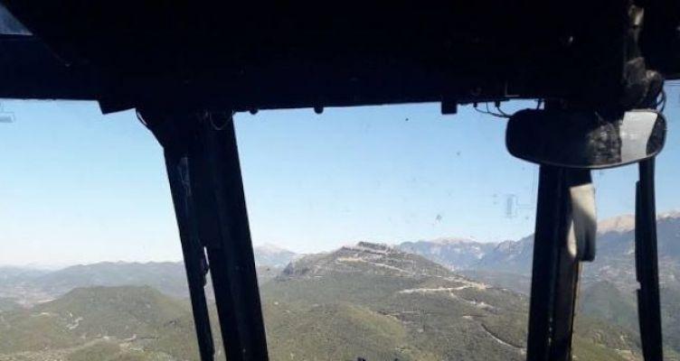 Πτήση με «Σινούκ» πάνω από τον Βλοχό και το Καινούριο Αγρινίου! (Φωτό)