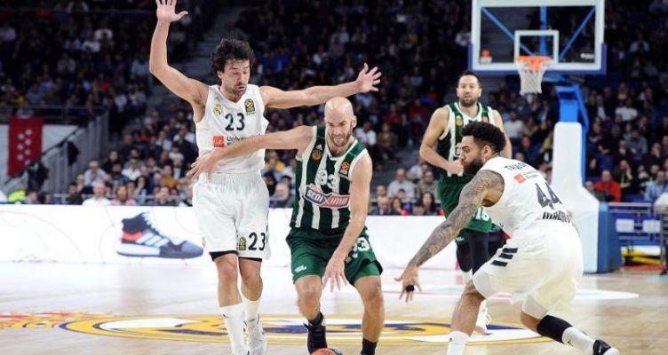 Euroleague Basketball: Τραγικός ο Παναθηναϊκός, ηττήθηκε με 89-68 από την Ρεάλ