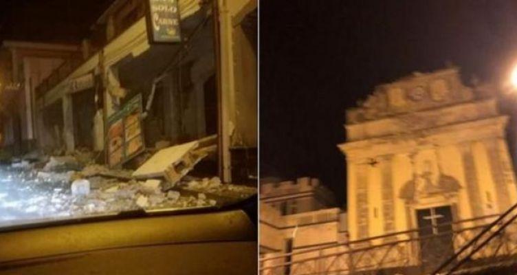 Σεισμός στην Ιταλία: Έπεσαν σπίτια στην Κατάνια