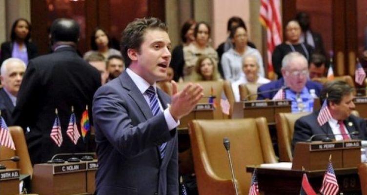 Τζέιμς Σκουφής: Ναυπάκτιος νεώτερος γερουσιαστής της Νέας Υόρκης (Βίντεο-Φωτό)