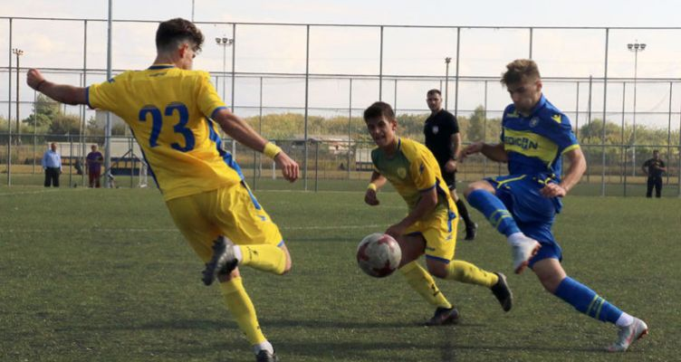 Super League K19: Ήττα για τον Παναιτωλικό από τον Ολυμπιακό
