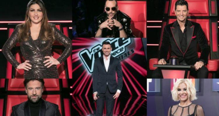 The Voice: Οκτώ διαγωνιζόμενοι διεκδικούν την πρωτιά σε μια βραδιά γεμάτη εκπλήξεις…