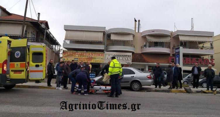 Αγρίνιο: Σοβαρό τροχαίο στο κόμβο Τσίγκα (Φωτό)