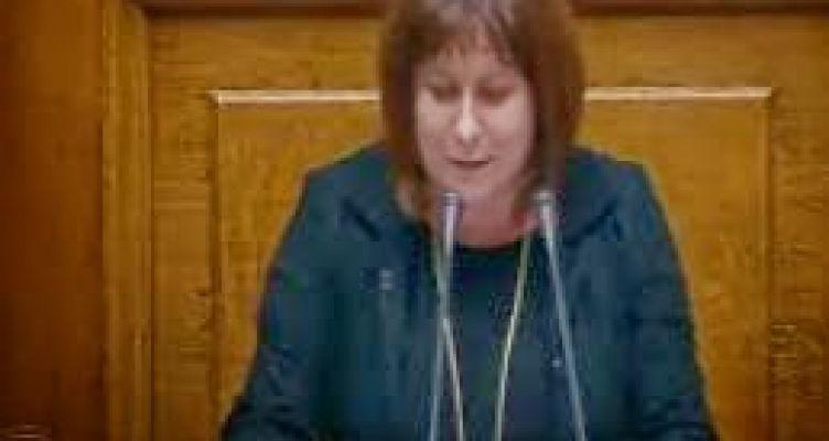ΜαρίαΤριανταφύλλου:Χρειαζόμαστε έναsuccessstoryγια τις λαϊκές τάξεις(Βίντεο)
