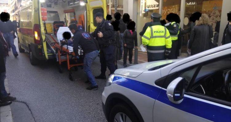 Ανήλικο αγοράκι τραυματίστηκε από Ι.Χ. στο κέντρο του Αγρινίου (Φωτό)