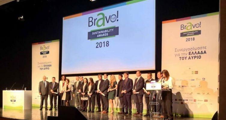 Διπλή βράβευση της Π.Δ.Ε. στα «BRAVO 2018» (Βίντεο)