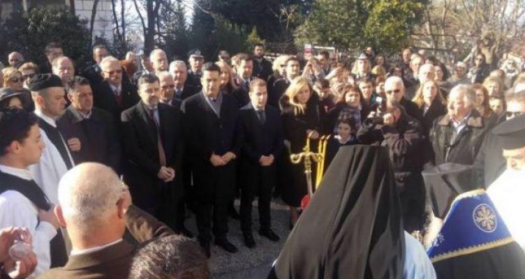 Με λαμπρότητα ο εορτασμός των Θεοφανείων στο Αγρίνιο (Φωτό)