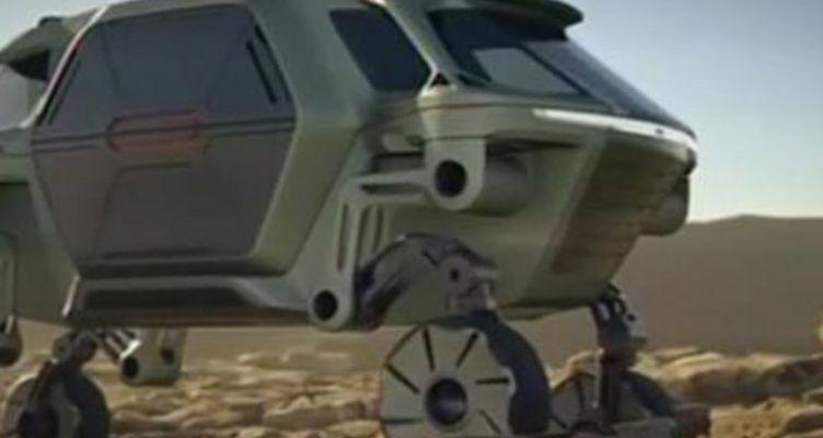 Έφτιαξαν αυτοκίνητο που… περπατάει! (Βίντεο)