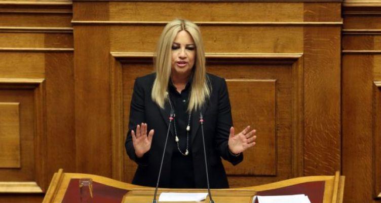 Ομιλία Φώφης Γεννηματά για την αναθεώρηση του Συντάγματος στην Ολομέλεια της Βουλής