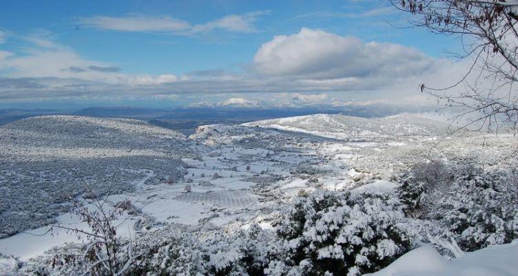 Καιρός: Στον «πάγο» η Ελλάδα – Πτώση της θερμοκρασίας και χιόνια