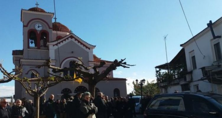 Σε κλίμα βαθιάς συγκίνησης το «τελευταίο αντίο» στον Στάθη Γ. Μπελεβώνη (Φωτό)