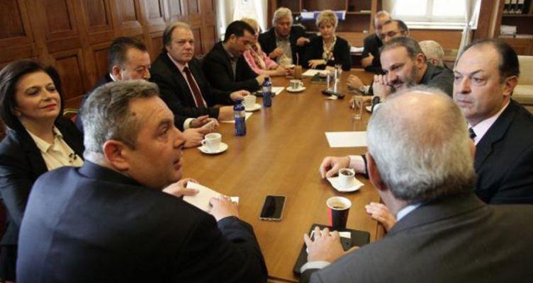 Πάνος Καμμένος: Περιμένουμε τις εξελίξεις στα Σκόπια για να λάβουμε αποφάσεις (Βίντεο)