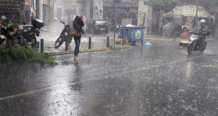 Αιτ/νία:Mεταβολή του καιρού με ισχυρές βροχές και καταιγίδες