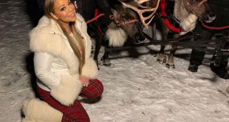 Mariah Carey: Ποζάρει με μικροσκοπικό μπικίνι και πανάκριβα κοσμήματα! (Φωτό)