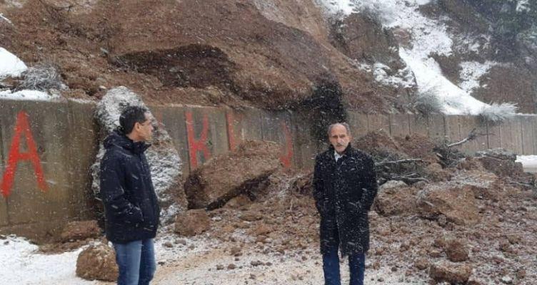 Π.Δ.Ε.: Προσπάθεια για αποκατάσταση κυκλοφορίας στην περιοχή του Μεγάλου Σπηλαίου