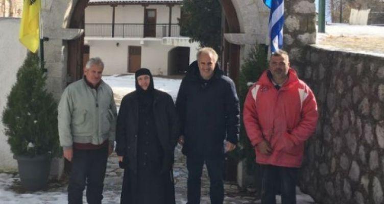 Δόθηκε πρόσβαση στο μοναστήρι και στην Βομβοκού από το μεσημέρι (Βίντεο)