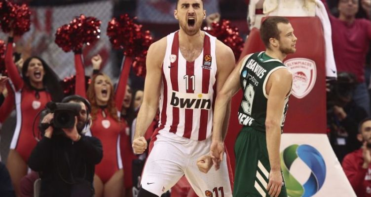 Euroleague Basketball: Εύκολη νίκη του Ολυμπιακού επί του Παναθηναϊκού
