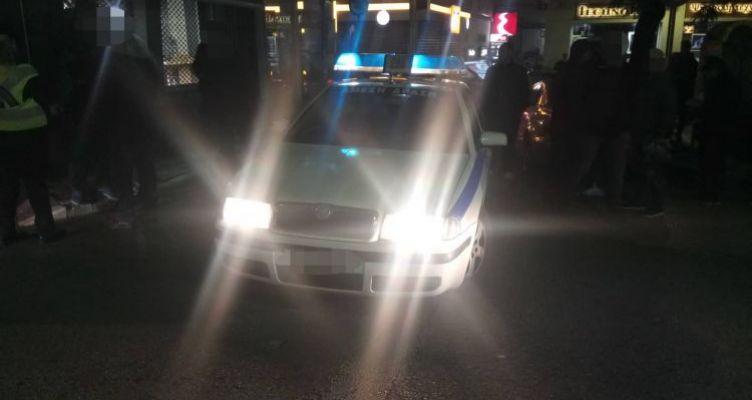 Μηχανάκι χτύπησε γυναίκα στο κέντρο του Αγρινίου (Φωτό)