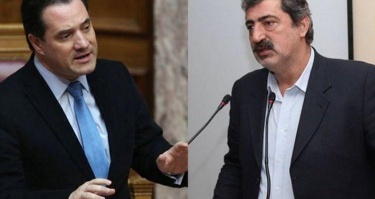 Σφοδρή αντιπαράθεση – Πολάκης: Λαμόγιο της ακροδεξιάς… – Γεωργιάδης: Είσαι ψεύτης