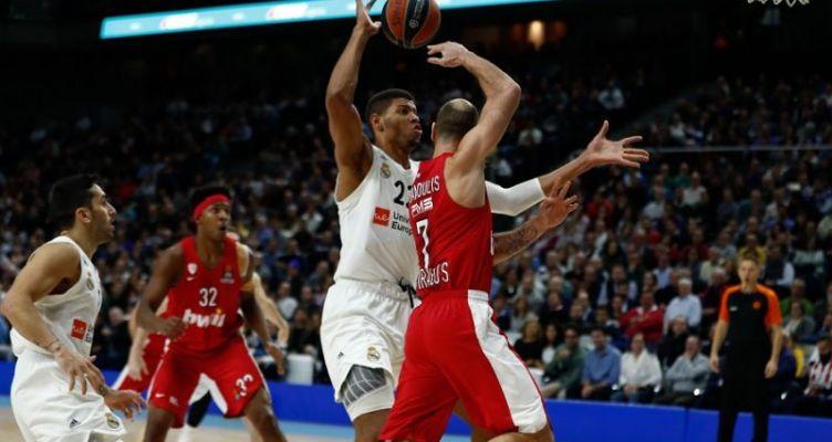 Euroleague Basketball: Η ευστοχία της Ρεάλ και η κακή άμυνα του Ολυμπιακού