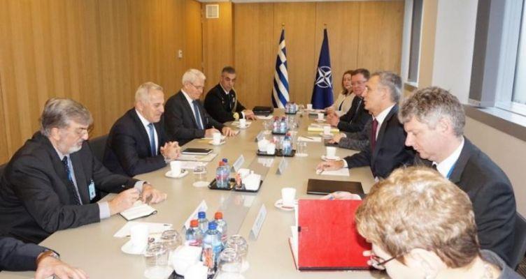Συμμετοχή ΥΕΘΑ Ευάγγελου Αποστολάκη στη Σύνοδο ΥΠΑΜ NATO