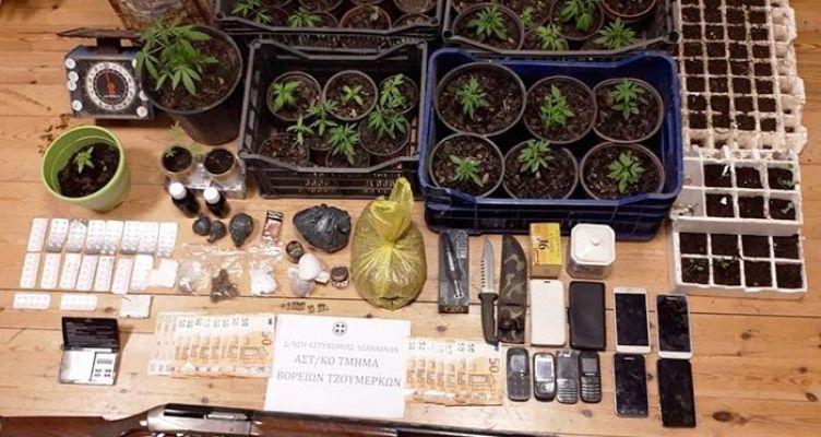 Εξάρθρωση εγκληματικών οργανώσεων για ναρκωτικά στην Αιτωλοακαρνανία