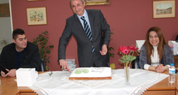 Ο Δήμος Θέρμου έκοψε την πρωτοχρονιάτικη πίτα του